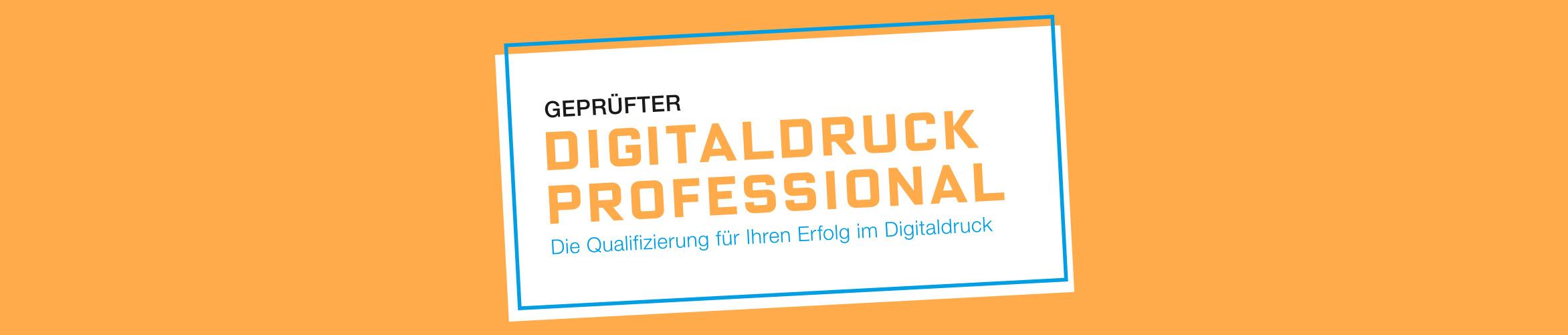 Geprüfter Digitaldruck-Professional